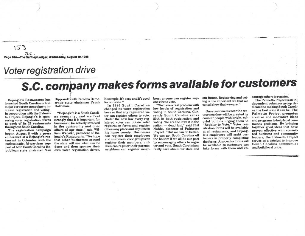 SC company makes forms available for customers - William Webster